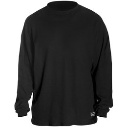 Black Schampa Mens Fleece Lined Long Sleeve Thermal T-shirt 2013