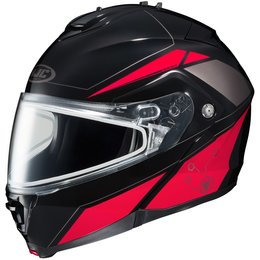 HJC IS-Max 2 Elemental Dual Pane Modular Snow Helmet With Flip Up Chin Bar Black