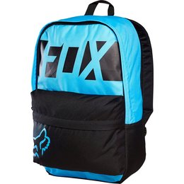 Fox Racing Covina Libra School Travel Motorsports Track Gear Bag Backpack Blue