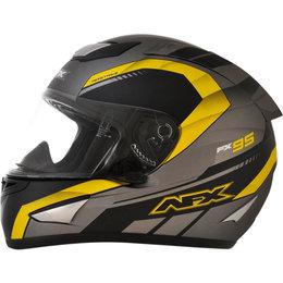 AFX FX95 Mens Airstrike Frost Helmet Yellow