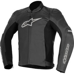 Alpinestars Mens SP-1 SP1 Airflow Armored Leather Jacket Black