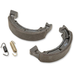SBS All Weather Rear Brake Shoes With Springs Single Set Only Kawasaki 2039 Unpainted