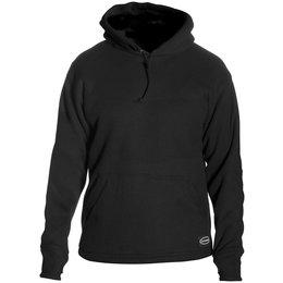Black Schampa Mens Fleece Lined Pullover Hoody 2013