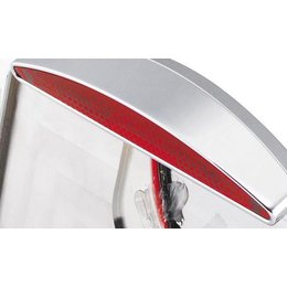 Red Bikers Choice Cateye Led License Frame Replacement Lens