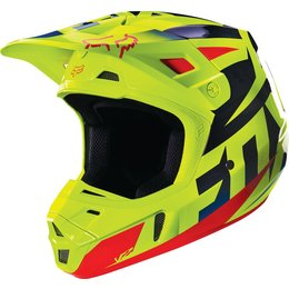 Fox Racing V2 Race DOT Helmet Blue