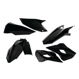 Acerbis Plastic Kit For Husqvarna TC125/250 FC250/450 Black 2393440001