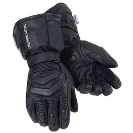 Black Tour Master Synergy 2.0 Heated Leather Gloves