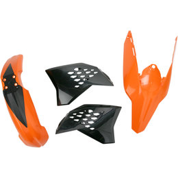 Acerbis Plastic Kit For KTM Orange 2113790237 Orange
