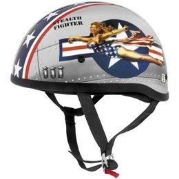 Bomber Pinup Skid Lid Original Half Helmet