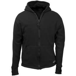 Black Schampa Mens Fleece Lined Zip Hoody 2013