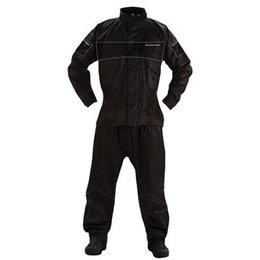 Black Nelson-rigg Ps-1000 Prostorm Two Piece Rainsuit