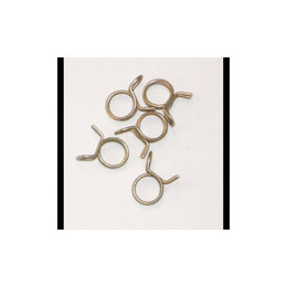 Helix Racing Hose Clamps 5/16 OD 150 Piece Zinc
