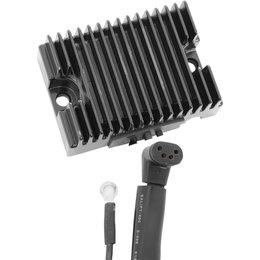 Drag Specialties 12V Solid-State Regulator 15A For Harley Black 2112-0780 Black