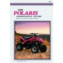Clymer Repair Manual For Polaris ATV Scrambler 500 97-00