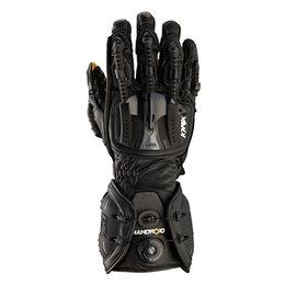 Knox Mens Hand Armor Handroid Riding Gloves Black