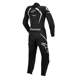 Black, White Alpinestars Womens Stella Motegi One Piece Leather Suit 2014 Eu 44 Black White