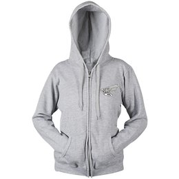 Heather Grey Honda Womens Motor Company Zip Hoody 2013