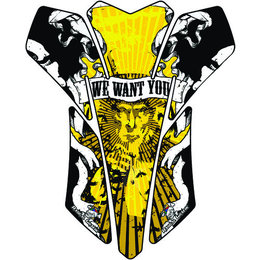 Rascal Grafik We Want You Tank Pad Yellow Universal