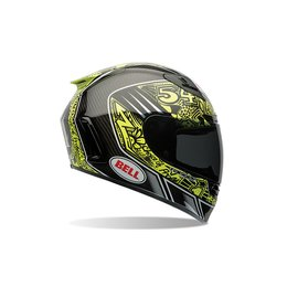 Bell Powersports Star Carbon Tagger Trouble Full Face Helmet Black