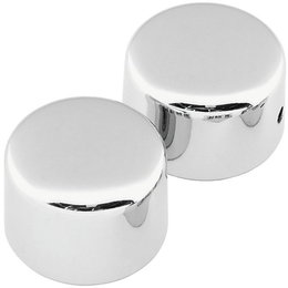 Biker's Choice Front Custom Axle Cap Set Harley-Davidson FLH FXD Chrome 302723 Unpainted