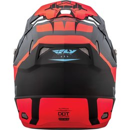 Fly Racing Toxin Graphic MX Helmet Orange