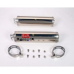 Stainless Steel Sleeve Mufflers Yoshimura Exhaust Rs3 Bolt-on Stainless Steel Dual For Suzuki Sv1000 03