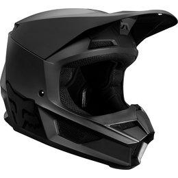 Fox Racing Youth V1 Matte MVRS Helmet Black