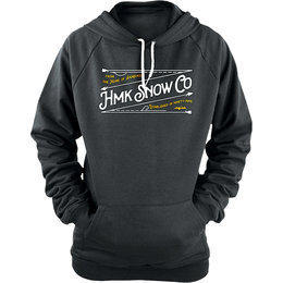 HMK Womens Stitch Pullover Hoody Black