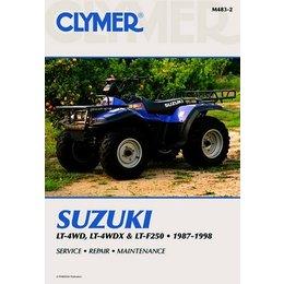 Clymer Repair Manual For Suzuki ATV LT LT-X LT-F250 87-98