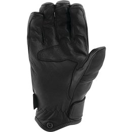 Speed &Strength Mens Off The Chain Leather Riding Gloves Black
