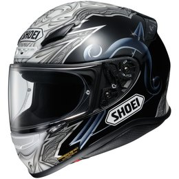 Shoei Mens RF-1200 RF1200 Diabolic Full Face Helmet Grey