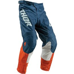 Thor Youth Boys Pulse Air Acid Pants Orange