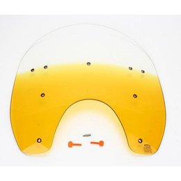 Memphis Shades 17 Windshield Yellow For Harley Davidson FXWG FXST FXDWG