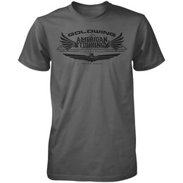 Charcoal Honda Mens Goldwing Touring Collection T-shirt 2013