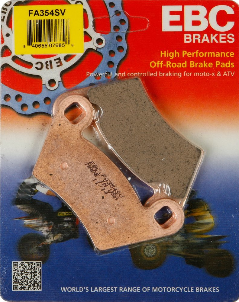 Ebc Brake Pads >> 34 09 Ebc Sv Severe Duty Atv Rear Brake Pads Single Set 982696