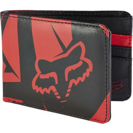 Fox Racing Mens Fracture Badlands Wallet Red