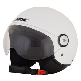 AFX FX-33 FX33 Open Face Scooter Helmet White