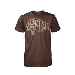 Brown Heather Speed & Strength Mens Rust And Redemption T-shirt 2015