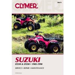 Clymer Repair Manual For Suzuki ATV LT230 LT250 85-90