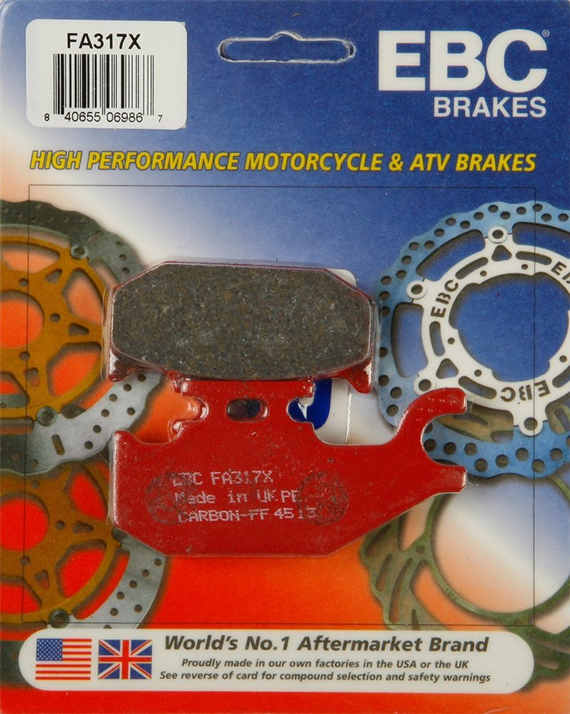 Can-Am Outlander 400 500 650 800 EBC severe duty front /& rear brake pads kit