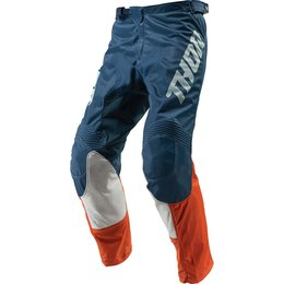 Thor Youth Boys Pulse Air Acid Pants Orange