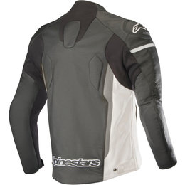 Alpinestars Mens Faster Perforated Armored Leather Jacket Black