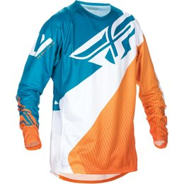 Fly Racing Mens MX Offroad Evolution 2.0 Jersey Orange
