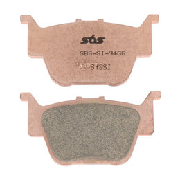 SBS ATV Off Road SI Sintered Rear Brake Pads Single Set Only Honda Rincon 813SI Unpainted