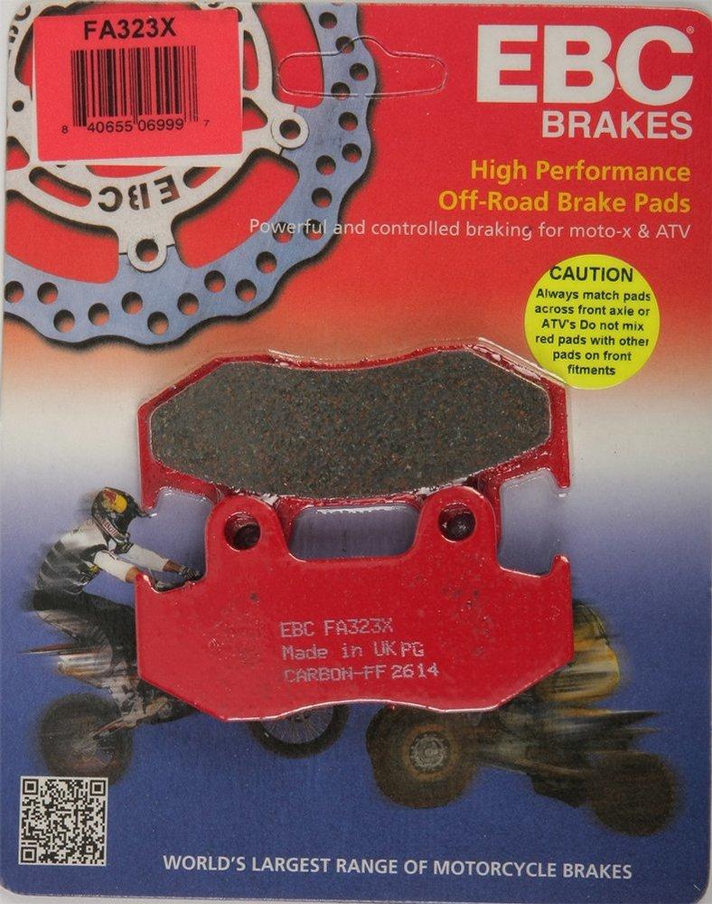 EBC R Front Right Brake Pads FA444R Yamaha YFM 700 FWAD FGPY Grizzly EPS 2009