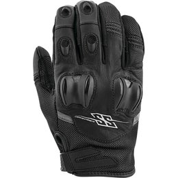 Speed & Strength Mens Power And The Glory Leather Riding Gloves Black