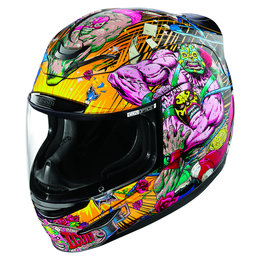 Icon Airmada Rudos Full Face Helmet With Flip-Up Shield Black Black