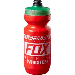 Fox Racing Union 22 Oz Water Bottle Red