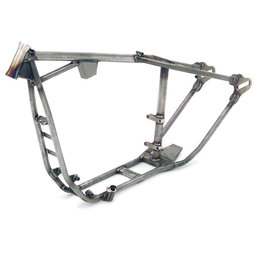 Steel Paughco Rigid Frame 35 Deg Rake For Harley 86-03