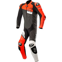 Alpinestars Mens GP Plus Venom 1PC Armored Leather Suit Black